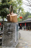 Teahouse in chengdu, china Royalty Free Stock Images