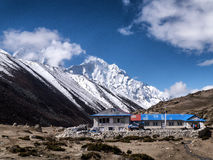Teahouse in Dingboche Royalty Free Stock Photos