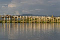 Teak bridge Stock Images
