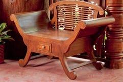 Teak Chairs. Royalty Free Stock Photos