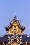 Teak Chapel In Wat Banden, Chiangmai Thailand Stock Photography