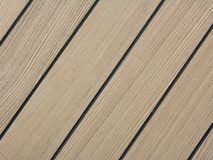 Teak Deck Stock Photo