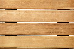 Teak deck Royalty Free Stock Images