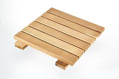 Teak deck Stock Images