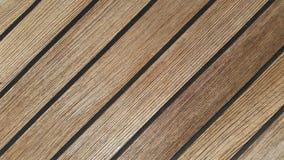 Teak deck texture background royalty free stock photography