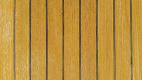 Teak deck texture. S royalty free stock image