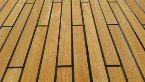 Teak deck textures wallpapers backgrounds Royalty Free Stock Image