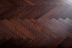 Teak flooring. The teak flooring partial close-up Stock Image