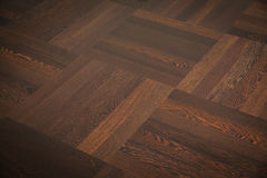 Teak flooring Stock Images