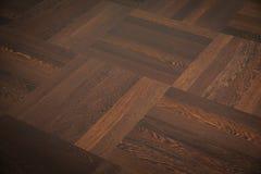 Teak flooring. The teak flooring partial close-up stock images