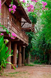 Teak house Stock Photos