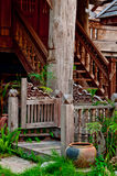 Teak house Royalty Free Stock Photos