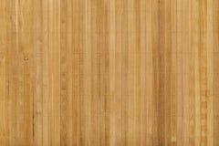 Teak houten paneel met messingsspijker Stock Fotografie