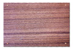 Teak tablet Stock Images