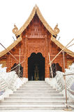 Teak temple. Stock Photos