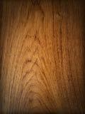 Teak wood background. Veritcal drop shadow Royalty Free Stock Photos