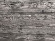 Teak Wood in Blank and White. Weather and exposed teak hardwood planking. royalty free stock images