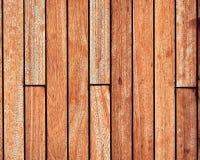 Teak wood deck, brown texture background. Teak wood boat deck close up top view, brown texture background stock images
