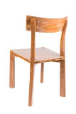 Teak Wood Chair Royalty Free Stock Images