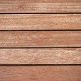 Teak wood deck Royalty Free Stock Image