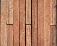 Teak wood deck stock image
