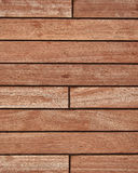 Teak wood deck stock photos