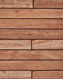 Teak wood deck Stock Photos