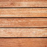 Teak wood deck, brown texture background. Teak wood boat deck close up top view, brown texture background royalty free stock images