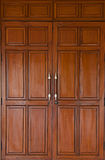 Teak Wood Door Stock Photography