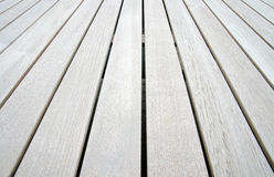 Teak wood panels Stock Photo