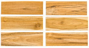 Teak wood plank surface Royalty Free Stock Photo