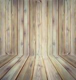 Teak wood plank texture background perspective. Stock Photo
