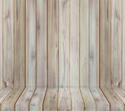 Teak wood plank texture background perspective. Stock Image