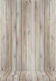 Teak wood plank texture background perspective. Royalty Free Stock Photos