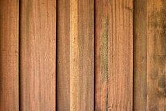 Teak wood plank texture Royalty Free Stock Photos