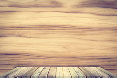 Teak wood shelf on teak texture background. Teak wood shelf on teak texture background stock photo