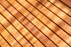 Teak wood table Stock Image