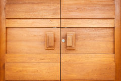 Teak wood texture. Close up Teak wood texture in the house Royalty Free Stock Image