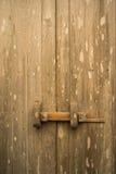 Teak wood traditional door Royalty Free Stock Image