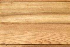 Teak wood wall stock image