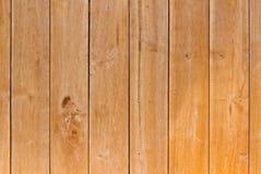 Teak wood wall Stock Image