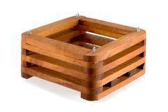 Teak Wooden Baskets Stock Photos