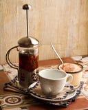 Teakettle травяного чая, натюрморта стоковые изображения rf