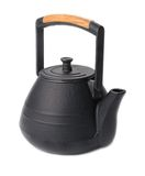 Teakettle of cast iron Royalty Free Stock Images