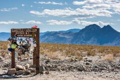 Teakettle Junction sign royalty free stock photography