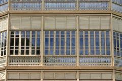 Teakholz-Palast Lizenzfreies Stockbild
