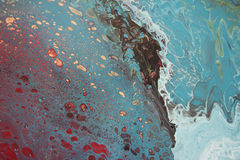 Teal Abstract 1-5 Stock Photography
