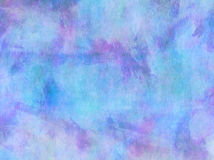 Teal Aqua Blue Purple Watercolor Paper bakgrund royaltyfri foto