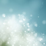Teal Blue    Festive background. Teal Blue   Festive defocused background with light beams Royalty Free Stock Photography