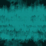 Teal blue grunge ink runs and strokes background Stock Photos